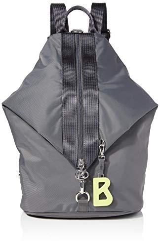 Bogner Damen Verbier Debora Backpack Lvz Rucksack, Grau (Darkgrey), 12x41x26 cm