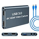 Best Usb Video Capture Devices - Rosmarinus Video Capture Card, USB 3.0 HDMI Video Review