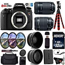 Canon Popularity EOS Rebel T6S DSLR Camera with 55-25 Lens 18-55mm is It is very popular STM