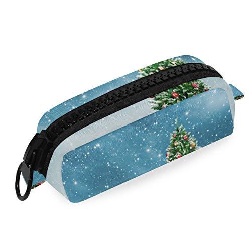 Big Zipper Boys Office Pencil Case Bolsa Bolígrafo Árbol de Navidad Regalo...