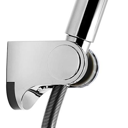 Kusun Universale regolabile fissata montato Supporto della testina doccia Bagno parete connettore staffa ABS cromato HSZJ001
