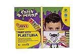 Jovi Kit para Pintar con PLASTILINA, Crazy Monsters (263CM), Multicolor