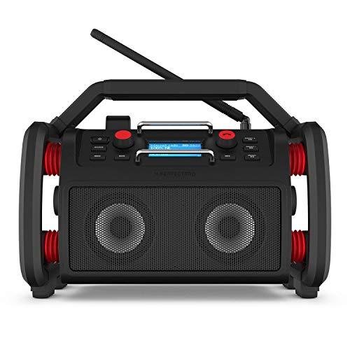 Perfectpro Rockpro WLAN Internet-Baustellenradio, DAB+/UKW, Bluetooth, USB, App