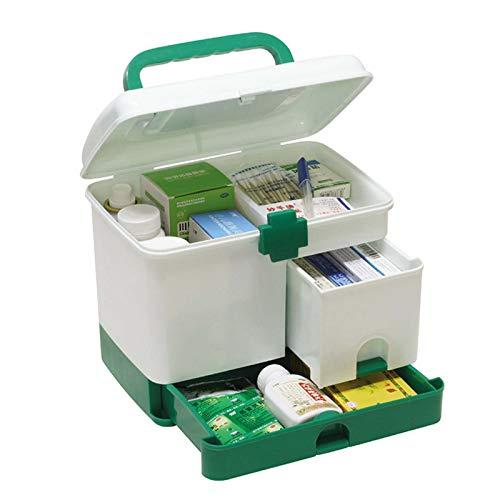 WZCXYX Caja De Medicina De Primeros Auxilios Multifunción Multicapa De Gran Capacidad para El Hogar Caja De Almacenamiento De Caja De Medicina Familiar para Niños