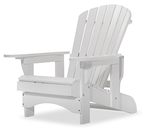 Original Dream-Chairs since 2007 Adirondack Chair Comfort Recliner de Luxe in weiß
