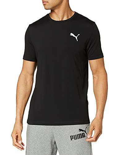 Puma Active T Camiseta, Hombre, Negro Black, XL