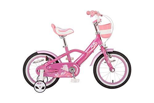 ROYALBABY(ロイヤルベイビー) 16インチ 補助輪付き 子ども用 自転車 ピンク [メーカー保証1年] チェーンケ...