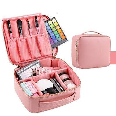 Sac cosmétique Chaude Marque organisateur voyage mode dame cosmétiques sac cosmétique esthéticienne sacs de rangement grande capacité Femmes maquillage pochette sac A