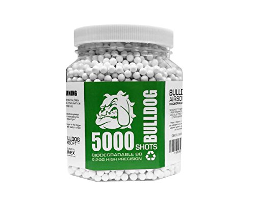 Bulldog Airsoft Biodegradable BB Pellets (0.20, 5000)