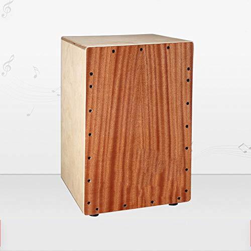 irugh Box Schlagzeuger Donnerschlag Holzkiste Cahoon Plantage Drum Pfirsich Holz pat Gesicht Cajon Trommel hölzerne Trommel