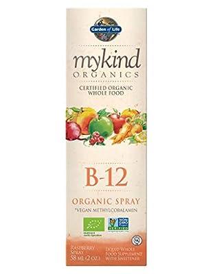 Garden Of Life Mykind Organics Organic B12 Spray 58ml from Garden Of Life