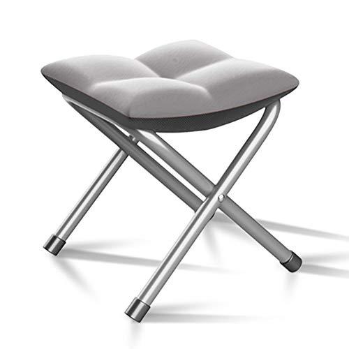 YLCJ SunLoungers Vouwstoelen Casual casual bureaustoelen voor het thuiskantoor (Kleur: grijs) Grijs