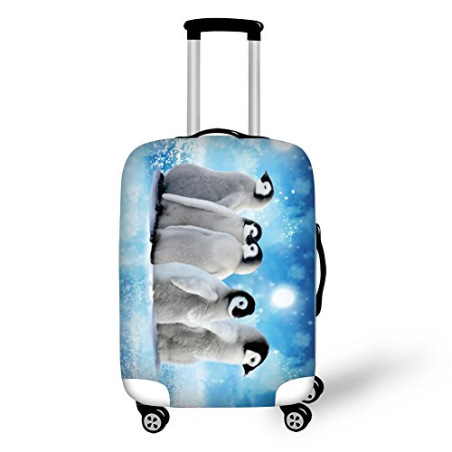 """Travel Luggage Covers,CAIWEI Pig Suitcase Protective Cover Fits 18""""-30"""" (L (26'-30' Cover))"""