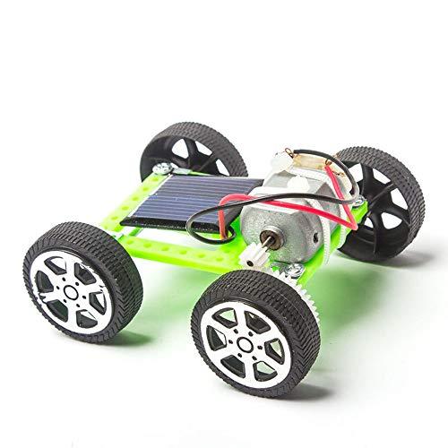 WZ Giocattoli Educativi per Bambini Scienza E Tecnologia dei Giocattoli di Plastica per Fare Esperimenti sulle Auto Solari Kit di Circuiti per Circuiti con Scienze Dell'educazione
