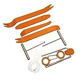 YXDS 1 Juego de Herramientas de desmontaje de Audio para Coche, Kit de Herramientas de Palanca de reparación de desmontaje de Panel automático de plástico
