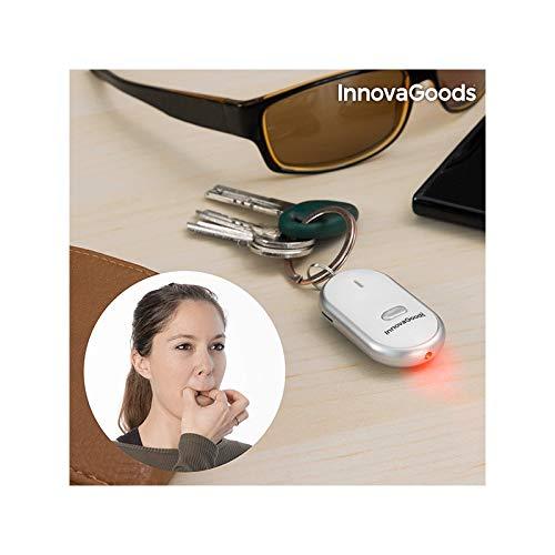InnovaGoods | Llavero localizador de llaves Led | Buscador de llaves