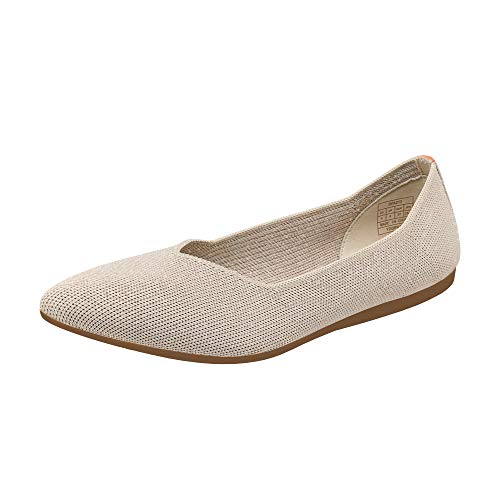 Top 10 best selling list for ollio women's shoe pointed toe flat orange