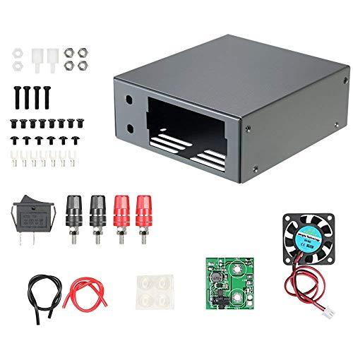 DollaTek Material de Acero Laminado en frío Kit de Carcasa para la Serie DPS Módulo de Fuente de alimentación LCD Digital Programable DPS3003 DPS3005 DPS5005 DP30V3A DP50V2A DP50V5A