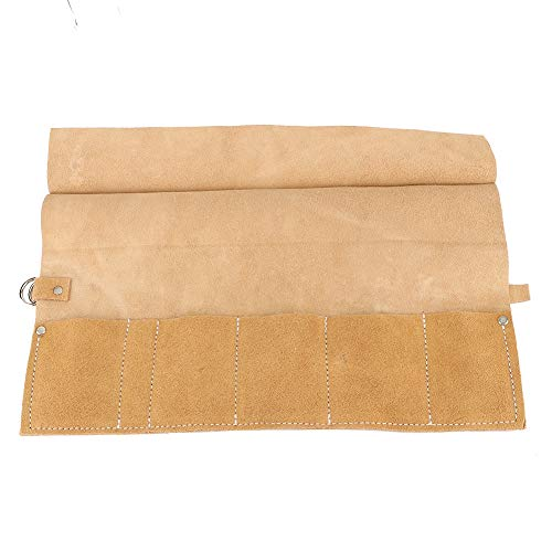 Bolsa de herramientas de reparación de jardín, suficiente 6,3 x 8,5 cm, suave y duradera bolsa de herramientas de jardín, hecha para tus herramientas favoritas (beige)