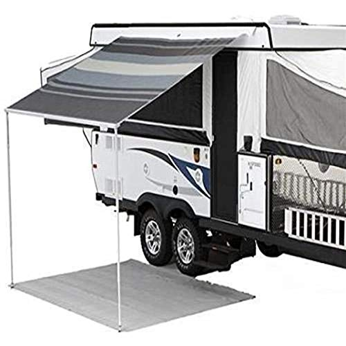 Carefree (981185800) Black/Gray 9' 10' Campout Bag Awning with Arm Set