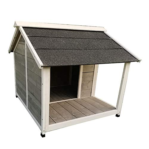 Wood Outdoor Insulated Weatherproof Dog Houses Large Dog Kennel cage