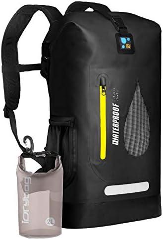 IDRYBAG PVC Waterproof Dry Bag Outdoor 30L Marine Dry Bag Water Sports Floating Bag Backpack product image