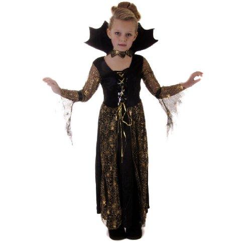 Halloween Spiderella Filles Déguisements Costume âge 7-9 Ans
