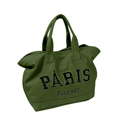 Preisvergleich Produktbild FakeFace Retro Umhängetasche Handtasche Tragetasche Einkauftasche Canvas Damen Reisetasche Schultasche Beuteltote Tasche