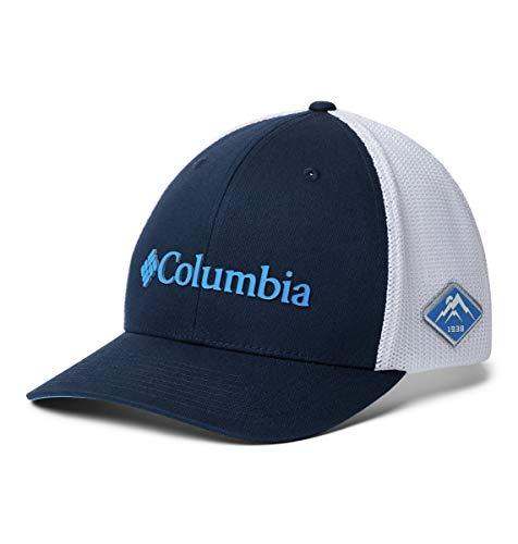 Columbia Gorra de malla para hombre - 1495921, XL, Collegiate azul marino/blanco