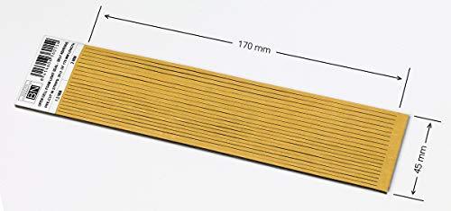 Una Pieza de 1,8 mm(Grosor) X 45 mm X 170 mm. Foam Adhesivo PRE-Cortado (20 Unidades)
