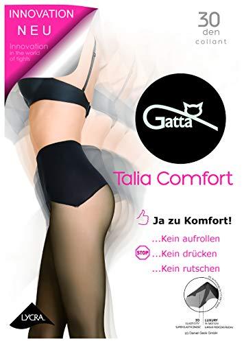 Gatta dames comfort panty (05T005) (30den) - naadloze panty hoog draagcomfort fluweelzacht mat