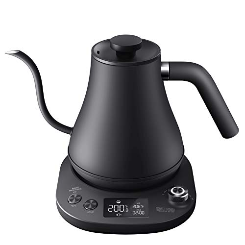 Aicook Electric Gooseneck Kettle Temperature Control, Pour Over Kettle for Coffee and Tea, 100%...