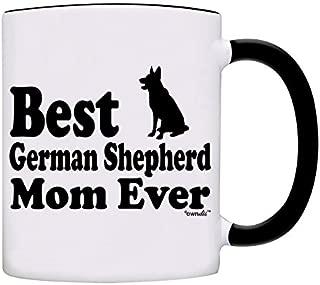 Mug Best German Shepherd Mom Ever Gift Coffee Mom Mug-0051-Black