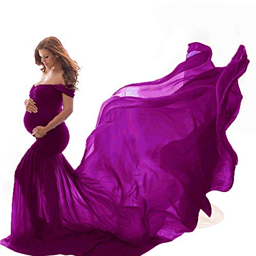 Vectry Vestidos Premama Mujer Pregnants Accesorios De Fotografía Fuera del Hombro Sin Mangas Vestido Sólido De Maternidad 2019 Vestidos De Fiesta Cortos Elegantes Vestido