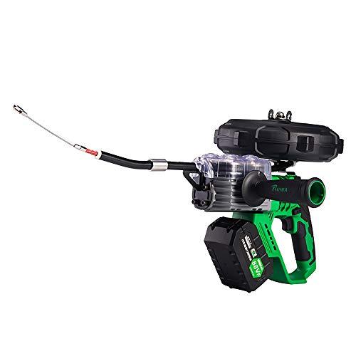 Yu Liao Máquina de tracción para electricistas, Dispositivo de enhebrado, trefilado automático y artefacto de roscado, Cable de Alambre de Acero de Doble hebra, Fuerza de tracción Fuerte