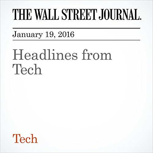 Headlines from Tech cover art