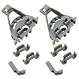 428344 Dishwasher Tine Clip Kit by Blutoget - Compatible with Thermador, Bosch, Kenmore Replaces 00428344