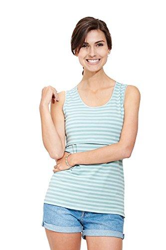 Milker - top d'allaitement Nan aquamarine stripe (ois) taille L