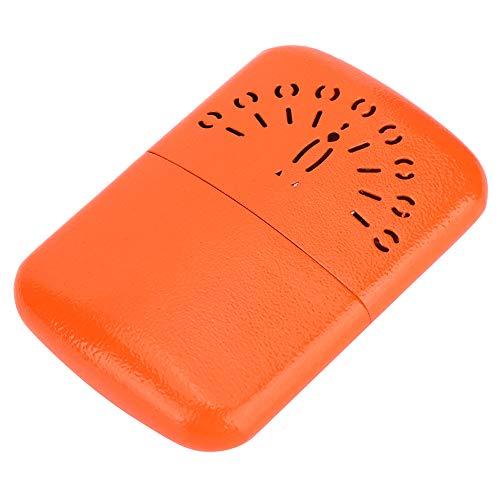 Calentador de manos, fácil de transportar, seguro y confiable Calentador de manos portátil, para viajes, camping, esquí, hogar(orange)