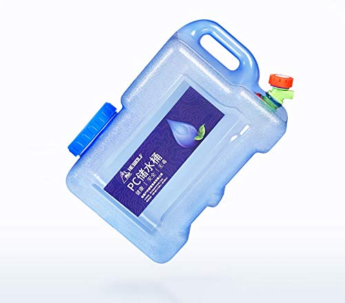 ZSYGFS Bidón De Agua El Tanque de Agua portátil para Cubo de Camping al Aire Libre es Adecuado para vagones Salvajes