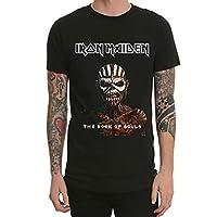 Iron Maiden アイアン・メイデン ヘヴィメタル バンド Tシャツ メンズ 半袖 夏服 綿100% 丸襟 通気性 快適 レディース Tシャツ コットン 人気 おしゃれ ファッション 男女兼用