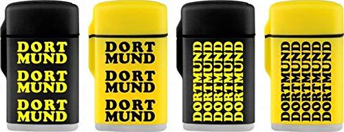 Unbekannt Feuerzeug Dortmund Sturmfeuerzeug Ligther schwarz gelb (gelb)