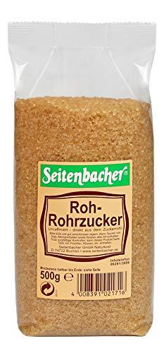 Seitenbacher Rohrohrzucker z.B für Caipirinha, 12er Pack (12 x 500 g)