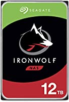 Seagate IronWolf 12TB NAS Internal Hard Drive HDD – 3.5 Inch SATA 6Gb/s 7200 RPM 256MB Cache for RAID Network Attached...