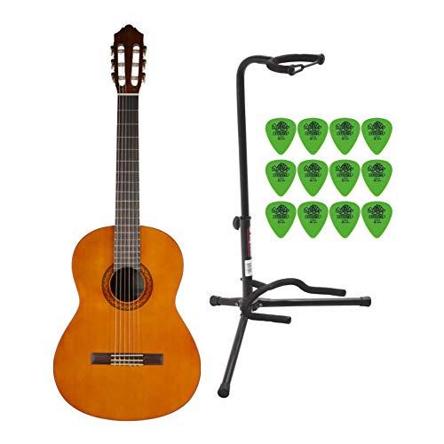 Yamaha C40 Nylon Cuerdas Clásica Guitarra Bundle con bolsa ...