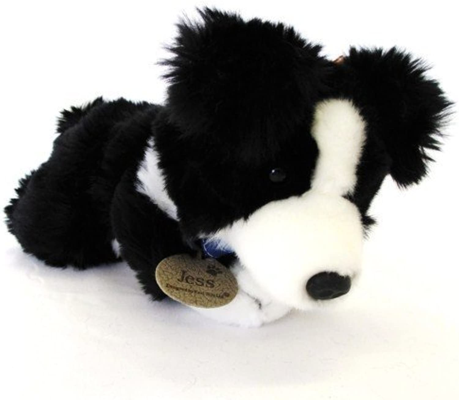 Jess Border Collie Dog 25cm Soft Toy by Keel Toys