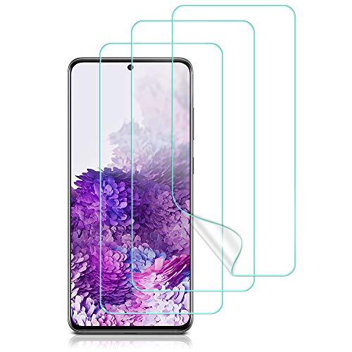 ESR - Pellicola protettiva in TPU compatibile con Samsung Galaxy S20 [confezione da 2 + 1 extra per la pratica]...
