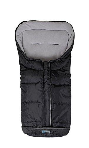 AltaBeBe AL2203-12 Winterfußsack, schwarz - grau