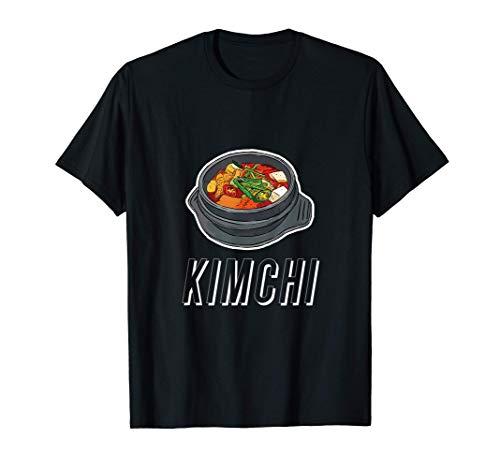 Tazón de sopa de kimchi picante platos tradicionales Camiseta