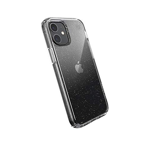 Speck Products Presidio Perfect Clear con glitter per iPhone 12 Mini